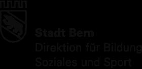 Logo Stadt Bern, Direktion für Bildung, Soziales und Sport