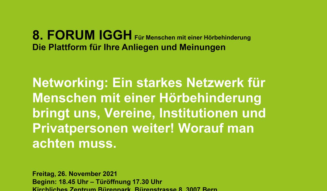 Flyer 8. Forum IGGH